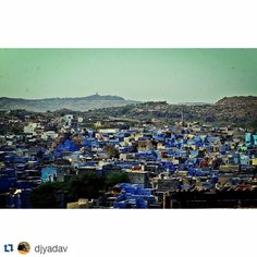 #Repost @djyadav with @repostapp To get featured tag your posts with #talestreet The blue city -Jodhpur #travel #travelers #traveling #travelling #travelgram #travelingram #canon #rajasthan #traveller #wanderlust #rural #mehrangargh #fort #jodhpur #travelindia #travelpictures #mehrangarghfort  #igers #delhi_igers #top #lonelyplanetindia #_oye #_soi #vsco #vscocam #vscogood #blue #city