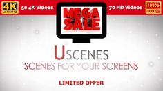 Relaxation Videos MEGA DEAL Download Bundle (4K and HD). Aquariums, nature and fireplaces.