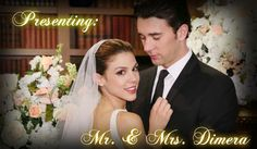 Mr and Mrs Chad DiMera-- now that Kate Mansi's left the role, I fear that the new Abby won't have the same chemistry with Billy Flynn.  I LOVED these two together!