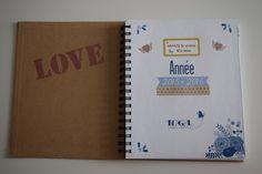 DIY planner Hearts & Wings by Shireece: DIY customisation de mon agenda