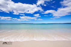 Chinamans Beach, Jervis Bay, NSW, Australia