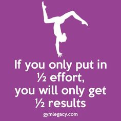 No matter what career you are in, your return is directly proportional to your efforts.Gymnastics is even more.If you only put in effort,you will only get results. Gymnastics Flexibility, Gymnastics Skills, Gymnastics Posters, Gymnastics Training, Gymnastics Pictures, Gymnastics Workout, Olympic Gymnastics, Gymnastics Stuff, Gymnastics Crafts