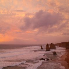 Last nights sunset was amazing!! Watching it at the 12 Apostles made it even better ☀️