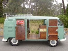 August 9,2013 Car of the Day: 1963 VW Microbus Camper