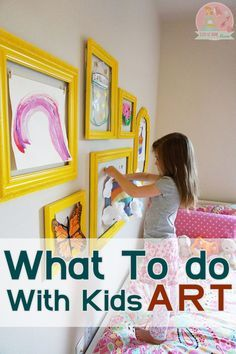 What to do with Kids Art work -  Preserve or Purge?