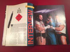WWF WWE Magazine December 1990 Texas Tornado Hogan Warrior Snake W/ Sleeve