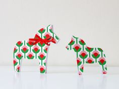 Dala Horse – Note Pad by maplepaper