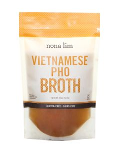 SOLD IN CASES OF 6. Gluten-Free, Made with Non-GMO Ingredients, Dairy-Free Did you know that Vietnamese pho is one of the original beef bone broths? A slow-simm