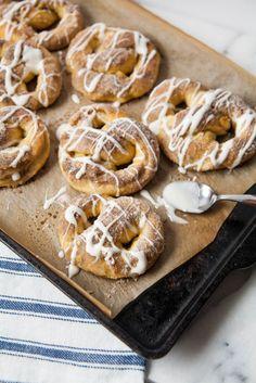 Cardamom Sugar Soft Pretzels with Orange Flower Water Glaze | The ...
