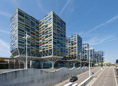 Leiden gebouw Le Carrefour  (VVKH architecten)  in gebruik door Achmea Zorgverzekering