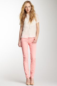Gwenevere Gummy Skinny Jean by 7 For All Mankind on @HauteLook