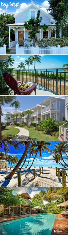 Think you have to spend a fortune to enjoy a Key West vacation? Think again! Check out these beach houses and start planning your next getaway now! via #HomeAway Miami Beach Rentals, Florida Keys Vacation Rentals, Vacation Destinations, Florida Travel, Vacation Places, Vacation Spots, Places To Travel, Places To Visit, Beach Houses In Florida