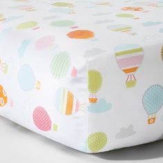 Another cute crib sheet option for a travel themed nursery