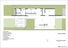 Imagen 17 de 18 de la galería de Casa Terraville / AT Arquitetura. Planta - Térreo