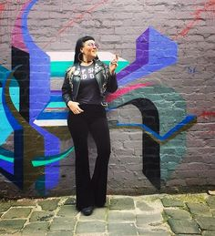 Babe @rosiemoonshine in our Black Velvet Flares  Pictured here looking like a Flare Goddess in our black velvet flares and the Eat Shit & Die tee from @elrodeostore. Rosie came to our Melbourne studio to pick up her order wearing Velvet Leopardprint flares  We love meeting our awesome customers! Send us a note through our website if you want to pick up or try on our flares we're in Brunswick East   #70sfashion #rockandroll #coachella #coachellafashion #sustainablefashion #sustainableliving…