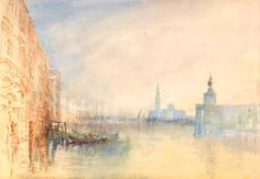 Joseph Mallord William Turner / Venice, The Mouth of the Grand Canal.