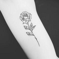 Tattoo Rose Klein Vorlage Tattooistartmag 12