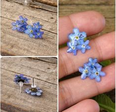 DIY Resin Flowers Flatback Scrapbooking for Phone/Wedding Crafts H xf … Resin Jewlery, Resin Jewelry Making, Diy Jewelry To Sell, Jewelry Crafts, Jewelry Ideas, Jewelry Accessories, Diy Resin Crafts, Diy And Crafts, Stick Crafts