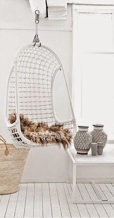 HOME & GARDEN: 35 chairs hanging rattan