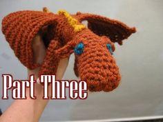 Armigurumi fierce dragon tutorial pt 3