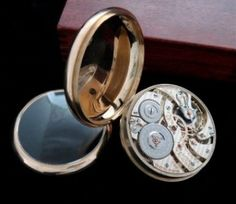 Men's 1922 Hamilton 950 Gold Railroad Pocket Watch | Strickland Vintage Watches