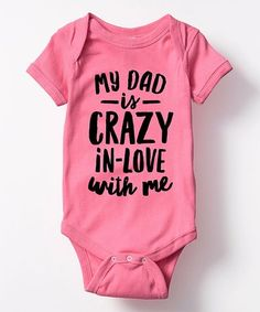 Take a look at this Raspberry 'I Got It From My Mama' Bodysuit - Infant today! My Baby Girl, Our Baby, Baby Girls, Baby Kids Clothes, Infant Girl Clothes, Infant Clothing, Kids Clothing, Newborn Baby Gifts, Everything Baby