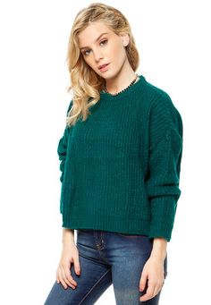 Sweater Verde 47 Street Soft 47 Street
