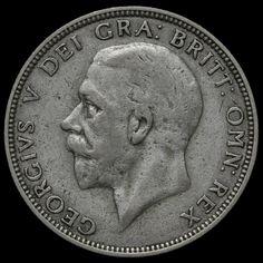 1932 George V Silver Florin, Rare, Fine