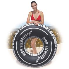 47 Giant High Velocity Tire Tube Tyre Holiday Fun Bestway Toys Domestic by Bestway