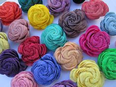 Sola Shell Flowers   SET of 12  rainbow by SuperiorCraftSupply, $7.95