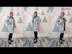 Плащ или легкая куртка своими руками. Начинаем подготовку к весне - YouTube Military Jacket, Kimono Top, Sewing, Womens Fashion, Jackets, Tops, Youtube, Down Jackets, Field Jacket