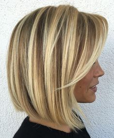 50 Medium Bob Hairstyles for Women Over 40 in Bob hairstyles are always cu. - 50 Medium Bob Hairstyles for Women Over 40 in Bob hairstyles are always cute but there are to - Stacked Bob Hairstyles, Thin Hair Haircuts, Medium Bob Hairstyles, Best Short Haircuts, Haircut Short, Haircut Bob, Hairstyles Haircuts, Pixie Haircuts, Over 40 Hairstyles