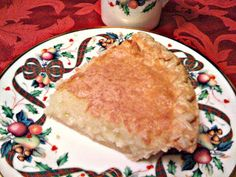 Sweet Tea and Cornbread: Kentucky Buttermilk Pie!