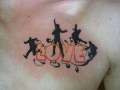 LOVE - Beatles Tattoo. <3
