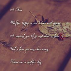 A tear poem by me #poem #poetry #poet #words #writing #quote #poet
