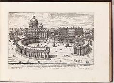 Veduta di Tutta la Basilica Vaticana (...) from: Il Nuovo Teatro delle Fabbriche, et Edificii, in Prospettiva di Rome Moderna (...)