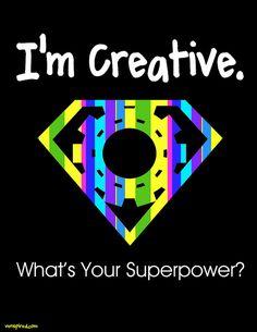 Creativity by KTVee, via Flickr... Affirmative statements, everywhere
