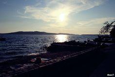 Sunset in Croatia  #sunset #sun #see #croatia
