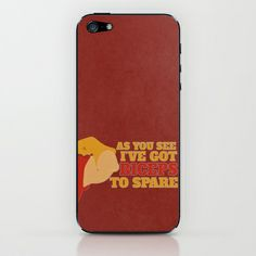 beauty and the beast.. gaston, biceps to spare.. iPhone & iPod Skin by studiomarshallarts - $15.00