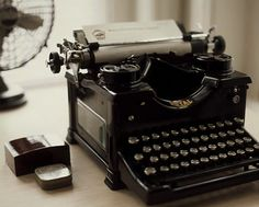 Nothing like the feel of an old typewriter.