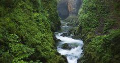 Gorges de la Langouette dans la haute vallée de la Saine