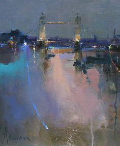 peterwilemanartist.co.uk | Love his work & the colors that he uses.