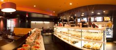 Sweet Hut Bakery. Explore ouropen and cozy environment with unique self service ordering system