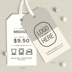 Etiquetas personalizadas etiquetas accesorio etiquetas