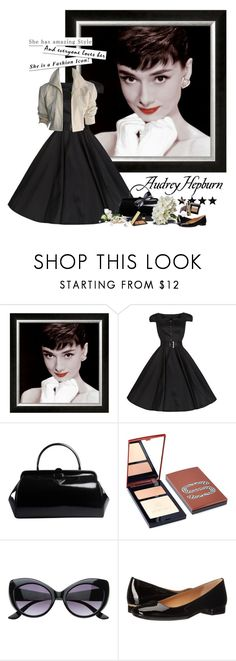"""audrey hepburn"" by countrycousin ❤ liked on Polyvore featuring Prada, Sisley, Epic, Calvin Klein and YSL RIVE GAUCHE"