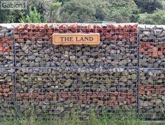 rock and brick filled gabion wall http://www.gabion1.co.nz