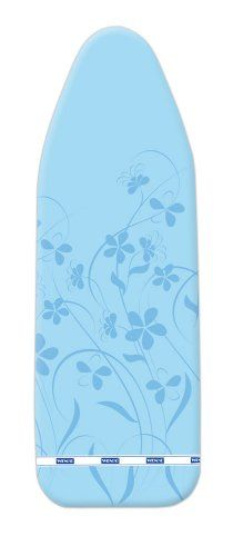 Wenko 1295640100 Ironing Board Cover Stretch Universal Size for S to L with 2 mm Padding
