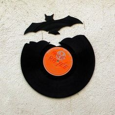 Also, it is apparently Art Made from Records Day, or something.