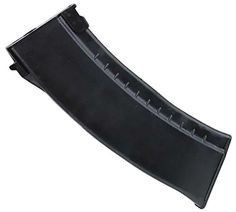 Evike - Matrix 140rd Mid-cap No Winding Magazine for AK Series Airsoft AEG.  Great feeding out of existing mid-cap magazines  High capacity mid-cap magazine  No sounds when moving around like hi-cap magazine  All bb down to the last one will feed unlike hicap magazines  Capacity: 140 rounds