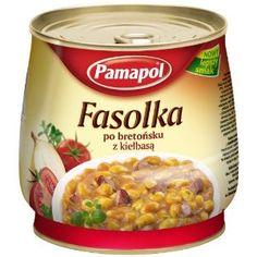 Pamapol Baked Beans with Sausage Fasolka po Bretonsku z Kielbasa 920 g (Pack of Kielbasa, Goulash, Baked Beans, Dog Food Recipes, Sausage, Oatmeal, Baking, Amazon, Breakfast